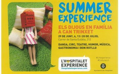Propostes Culturals SUMMER EXPERIENCE a Can Trinxet