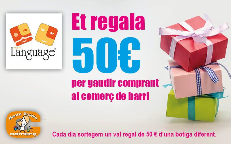 Ms and Mr Language Academia d'anglès et regala 50€